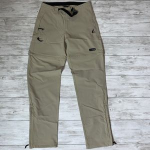REI Tan Convertible Pants Size 10